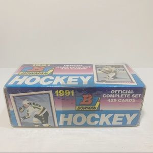 BOWMAN | 429 Hockey Cards Sealed Complete Set 1991